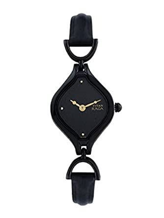 700c7c869 Buy Titan Raga Analog Black Dial Women's Watch -NK2531NL01 Online at Low  Prices in India - Amazon.in