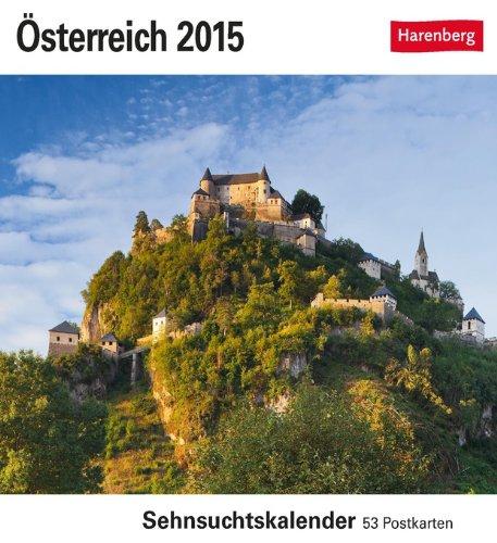 Österreich Sehnsuchtskalender 2015: Sehnsuchtskalender, 53 Postkarten
