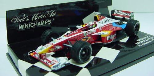 Minichamps 1//43 Scale 430 990005 Williams F1 Supertec FW21 A.Zanardi 1999