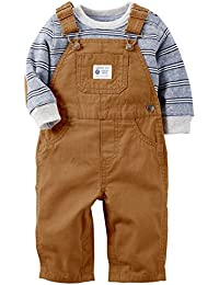 Carter's Baby Boys' 2 Piece Holiday Overall Set (Baby)
