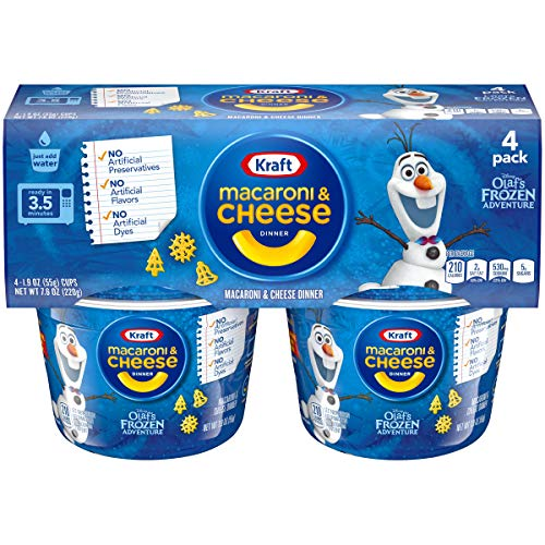 (Kraft Easy Mac Cups Frozen Shapes Dinner (7.6 oz Boxes, Pack of 6))
