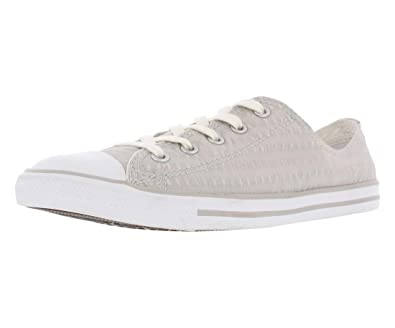 287f0d7bf146 Converse Chuck Taylor All Star Dainty - OX - ASH Grey White Mouse -