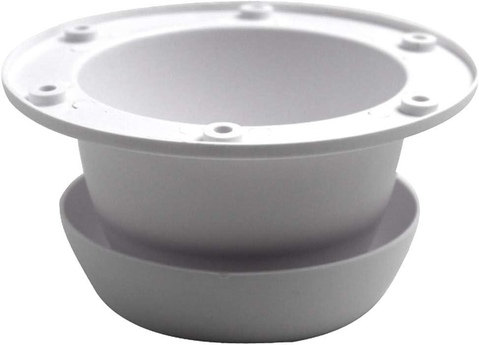 Facile /à Installer en Forme de t/ête de Champignon Blanc Almabner Grille da/ération de Toit Taille Unique