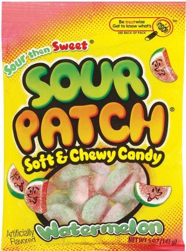 DDI - Sour Patch Watermelon Peg 5 Oz. 12 Count (1 pack of 12 items)