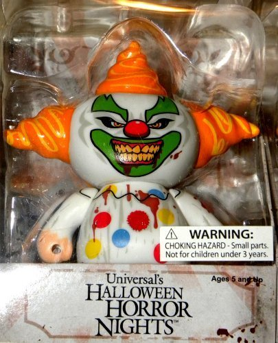 New Universal Studios Florida Halloween Horror Nights 23 2013 Jack the Clown Vinyl Figure Le Zombie Map Park Exclusive