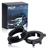 RCP-H7AD02MX-H7 bombilla LED faro adaptador para Kia Sorento gran Santa Fe Hyundai Sonata generación 9 (2015-2017) Hyundai Santa, 2pcs