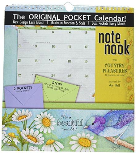 The LANG Companies WSBL Country Pleasures 2018 note Nook Office Wall Calendar (Note Nook Wall Calendar)