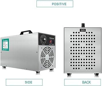 KEKE Generador De Ozono 3000Mg/H Purificador De Aire con Temporizador para La Desinfección del Eliminador De Olores Purificador De Aire: Amazon.es: Deportes y aire libre