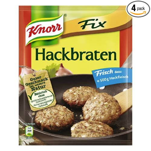 Amazon.com : Knorr Fix meatloaf (Hackbraten) (Pack of 4) : Grocery & Gourmet Food