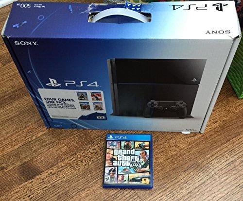 プレイステーション4本体 500GB Grand Theft Auto V Packの商品画像