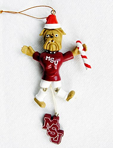 - BPI Collectibles NCAA Mississippi State Bulldogs Bully Football Sports Mascot Santa HAT Ornament