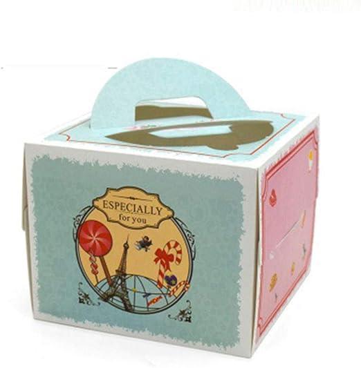 Cajas de regalo para cupcakes, 15 unidades, caja portátil para ...