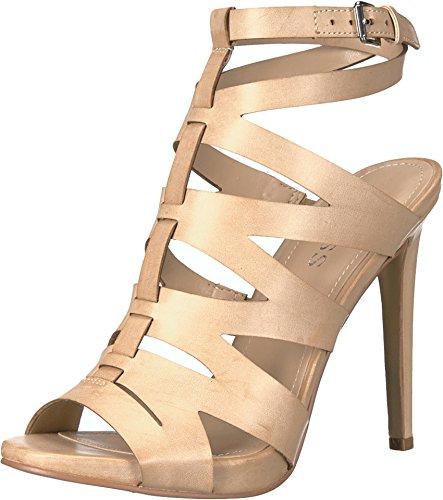GUESS Women's Alyah Light Natural Shoe (Guess Men Dress Shoes)
