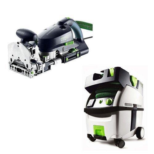 ino XL Joiner with CT MIDI HEPA 3.3 Gallon Mobile Dust Extractor (Midi Mobile Dust Extractor)