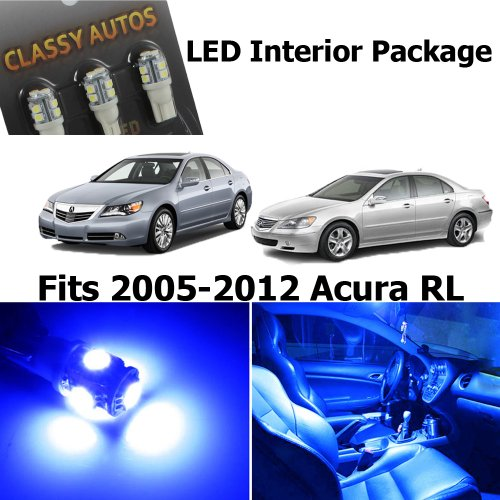 classy-autos-acura-rl-blue-interior-led-package-9-pieces