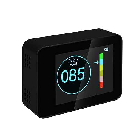 LDRAGON Monitor de Calidad de Aire PM 2.5 Detector, PM 1.0/PM10 analizador de