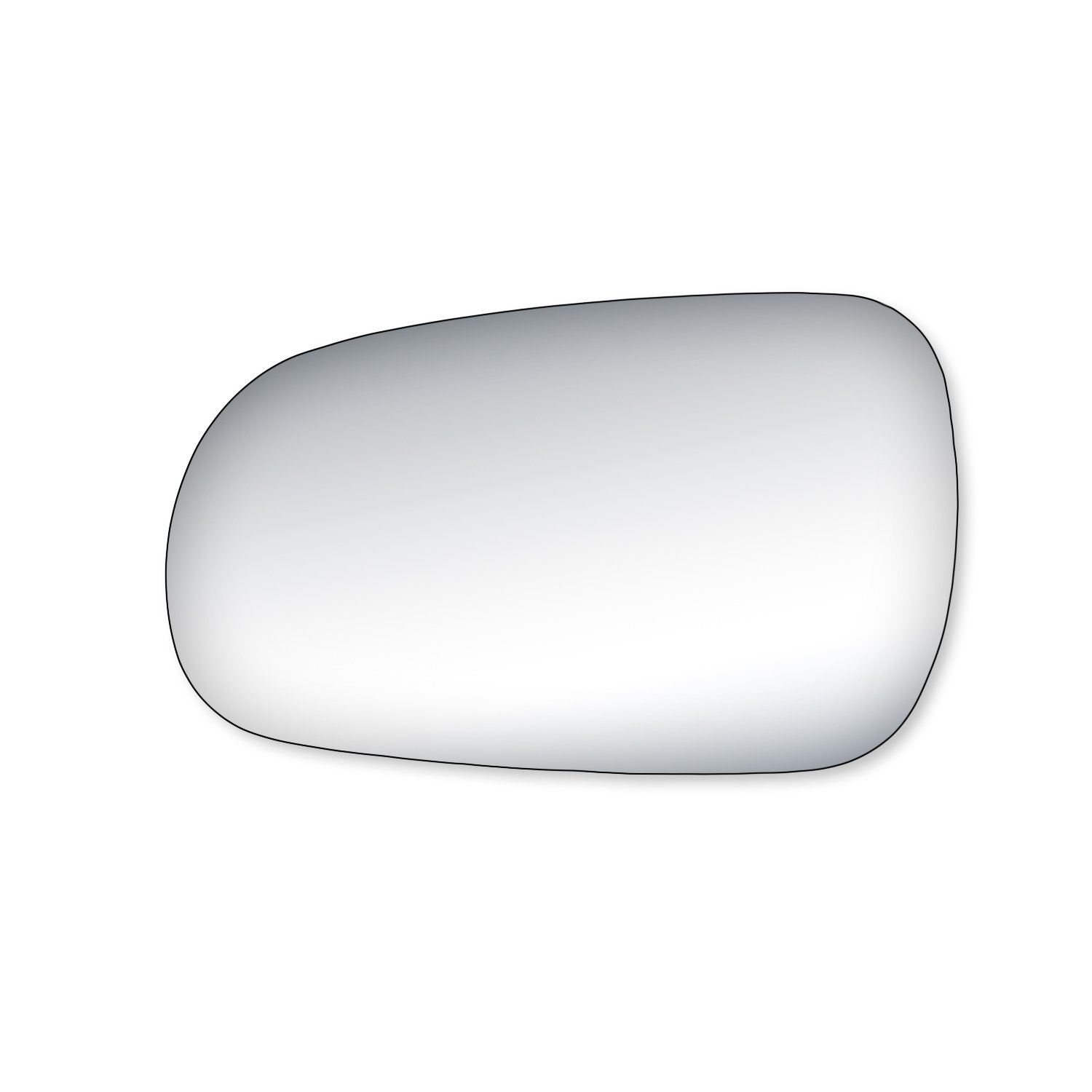 Fit System 99084 Honda Accord//Civic Driver//Passenger Side Replacement Mirror Glass