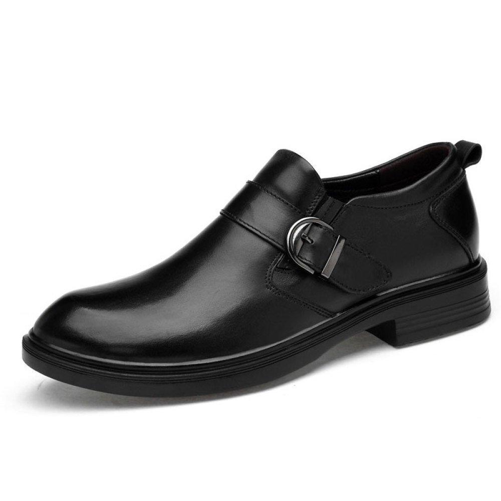 Männer Casual Business Lederschuhe Comfort Business Casual Schuhe Everyday schwarz2 0ec74d
