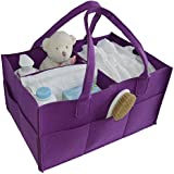 BabyOwl Baby & Toddler Portable Diaper Caddy Organizer...