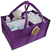BabyOwl Baby & Toddler Portable Diaper Caddy Organizer - Functional and Fashionable Storage Solution