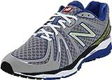 Cheap New Balance Men's M890v2 Neutral Running Shoe, Silver/Blue, 13 D US