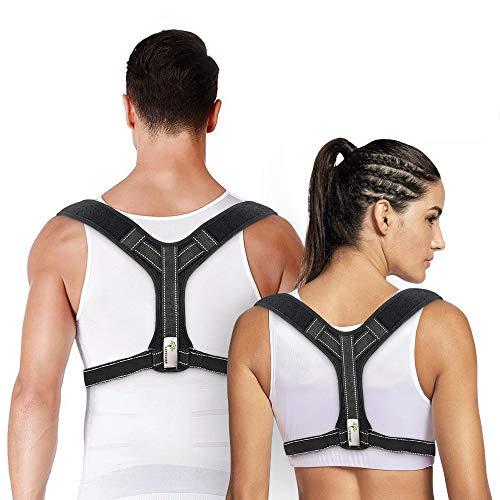 🥇 LIFECORP – Corrector de postura de espalda para hombre y mujer