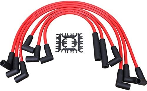 CHEVY Inline 6 Straight 6 194-230-250-292 HEI Distributor RED Plug Wires NEW