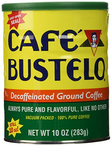 Cafe Bustelo Decaffeinated Coffee, 10 oz by Cafe Bustelo