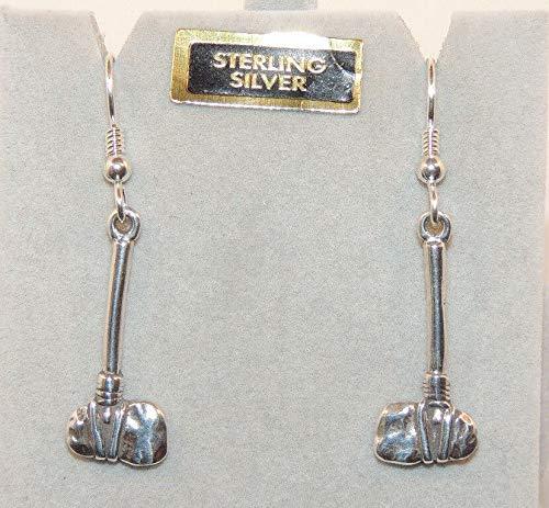 Sterling Silver Tomahawk Wire Earrings DWK-597 ()