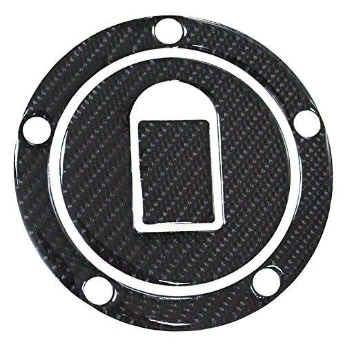 3D Carbon Fiber Tank Gas Cap Pad Pad Filler Cover Sticker decals For KAWASAKI 99-06 ZX-6R ZX-9R ZX-10R Z1000 Z750 (Zx9r Carbon Fiber)