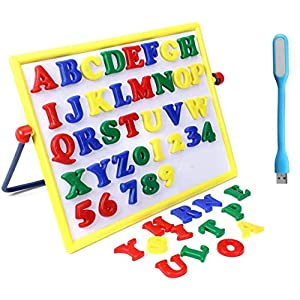 BKDT Marketing Alpha Numeric 2in1 Magnetic Learning Board