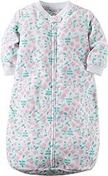 Carter\'s Baby Girls Sleepbag, White, OS9