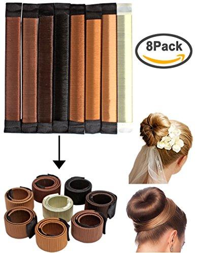 brown hair bun maker - 9