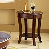 Steve Silver Company Troy Round End Table For Sale