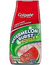 Colgate Kids 2 In 1 Toothpaste & Mouthwash, Watermelon Flavor, 4.6 oz (130 g) by Colgate