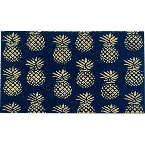 (Bombay Duck 100 Percent Natural Coir Pineapple Door Mat Rug 29