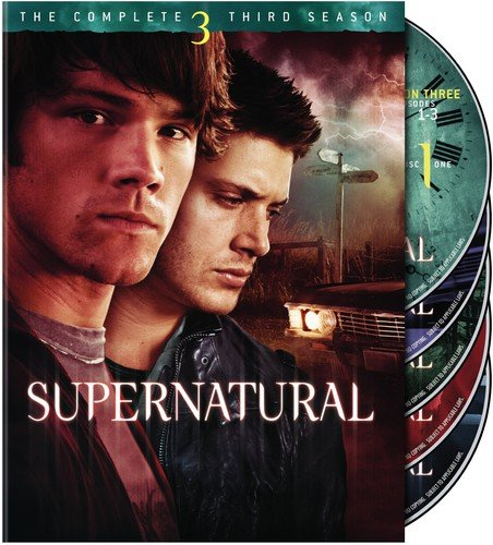 Supernatural: The Complete Third Season Jared Padalecki Jensen Ackles Warner Home Video Horror / Sci-Fi / Fantasy