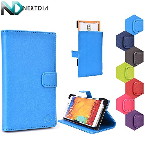 Lenovo S650 Case Stand with Quick Camera Access | Hellatronic Blue + NEXTDIA Velcro Cable Tie