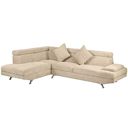 Amazon.com: Corner Sofa Sectional Sofa,Living Room Couch ...