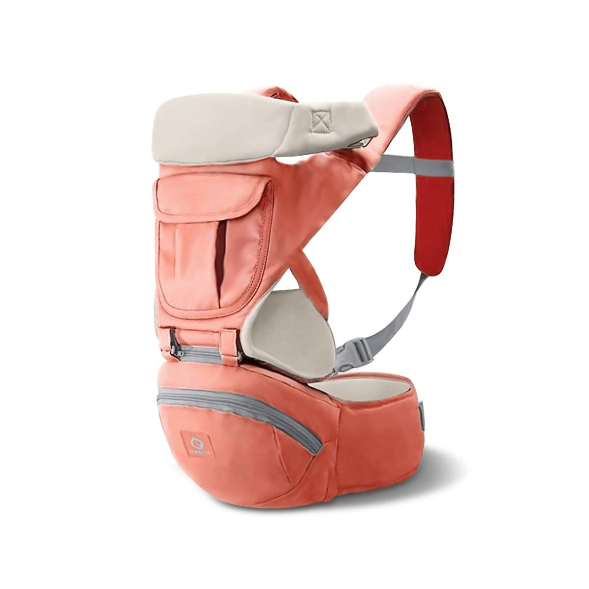100/% Guarantee and Free DELIVERY,Ideal Gift Gray SONARIN 3 in 1 Multifunction Hipseat Baby Carrier,Front Facing Infant Sling,Large Storage,Ergonomic,All Seasons,Adapted to Your Childs Growing