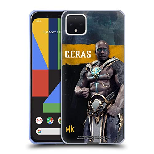 Official Mortal Kombat 11 Geras Characters Soft Gel Case Compatible for Google Pixel 4 XL