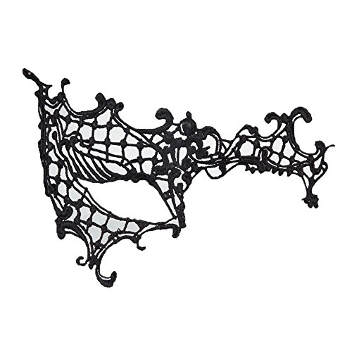 Mardi Gras Party Masquerade Mask,Halloween mask Makeup Dance Eye Patch Sexy lace mask elf D Prom Masks -