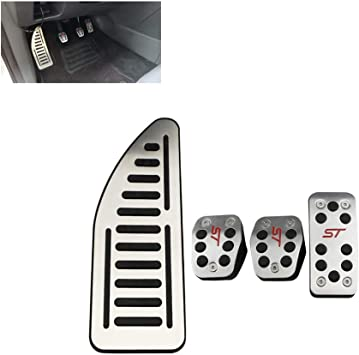 Car Brake Pedals Cover Footrest Accelerator Pedal Auto