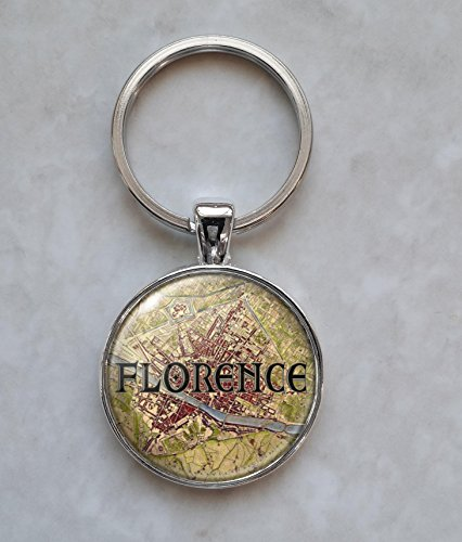 Florence 1848 Map - Florence Jewelry