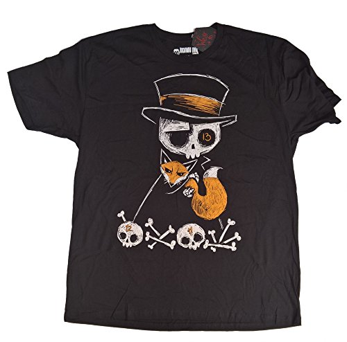 AKUMU INK The Fox And The Bait Herren T-Shirt Grösse 2XL