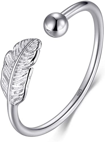 925 Sterling Silver Ring Adjustable Leaf Green BRAND NEW Present Gift Beautiful