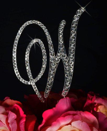 Unik Occasions Victorian Crystal Rhinestone Wedding Cake Top