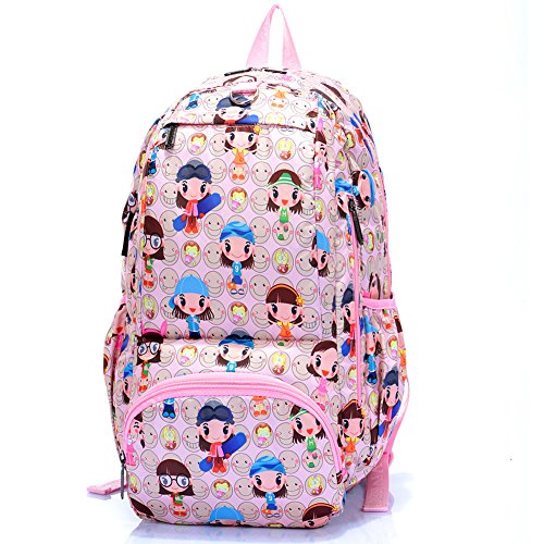 Bag / cartoon Harajuku shoulder bag / backpack male and female students-8 by Children's backpack