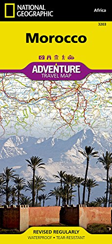 Morocco (National Geographic Adventure Map)