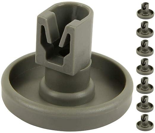 8 piezas de repuesto para cesta inferior de lavaplatos, parte ...